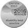 APSCo Disability Best Practice 2016 winner logo