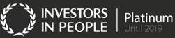 Investors in People platinum award logo