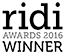 RIDI Awards winner 2016 logo