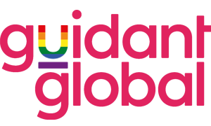 Guidant Global Pride logo pink