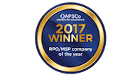 APSCo 2017 winner logo - RPO/MSP of the year