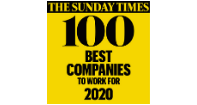 The Sunday Times Best Companies 2019 logo