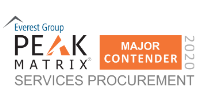 Everest Peak Matrix Services Procurement 2020 Major Contender