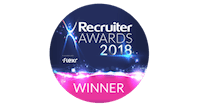 Recruiter Awards 2018 logo