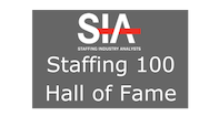 Staffing Industry Analysts Staffing 100 Hall of Fame