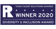 TIARA Awards 2020 winner logo Diversity and inclusion award
