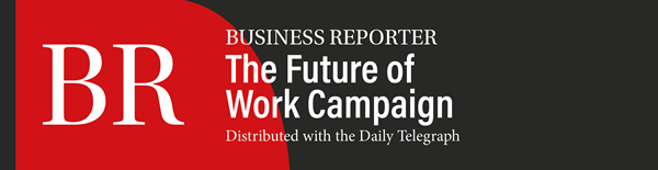 BR The future of work campaign distributed with the Daily Telegraph