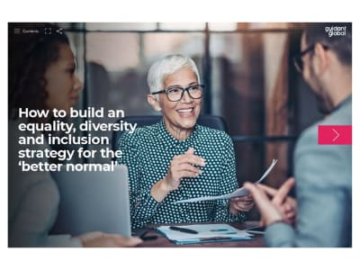 How to build an equality diversity and inclusion strategy for the better normal guide cover image