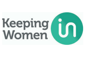 Keeping Women In logo