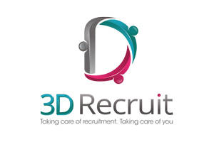 3D Recruit logo